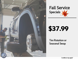 Fall Tire Swaps!
