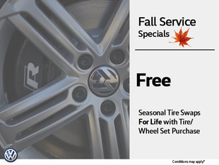 Free Tire Swaps for Life!