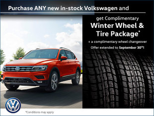 Complimentary Winter Wheel & Tire Package