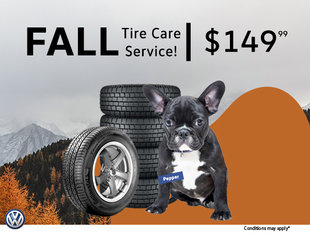 Fall Tire Care Service Package