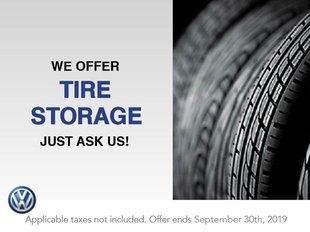 We Offer Tire Storage
