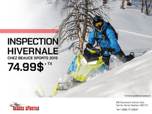 Beauce Sports - Inspection hivernale chez Beauce Sports 2015!