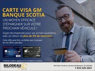 Carte Visa GM Banque Scotia