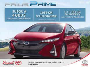 Rabais Prius Prime