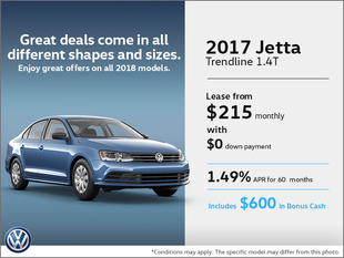 Get the 2017 Jetta Today!