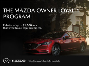 Forman Mazda - The Mazda Owner Loyalty Program