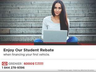 Enjoy Our Student Rebate at Grenier 6 000 $ et moins