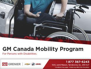 GM Canada Mobility Program