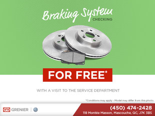 Braking System Checking for free!