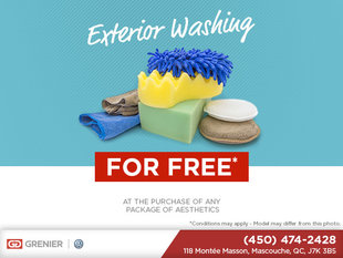 Exterior Washing For Free!