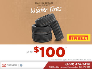 Rebate On Winter Tires!