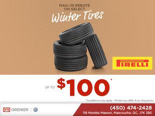 Rebate On Winter Tires!