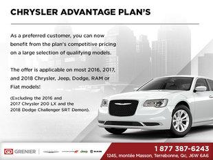 Chrysler Advantage Plan