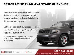 Programme Plan Avantage Chrysler
