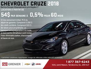 La Chevrolet Cruze 2018!