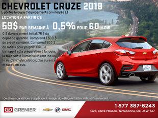 La Chevrolet Cruze à hayon 2018!