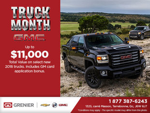 GMC's Truck Month