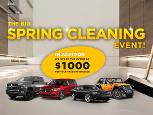 The big SPRING CLEANING event!