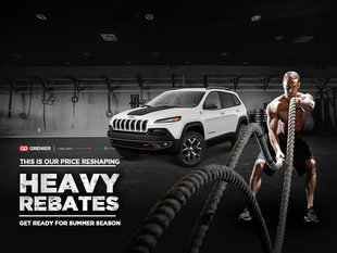Jeep Cherokee Heavy Rebates!
