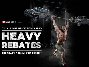Jeep Wrangler Heavy Rebates!