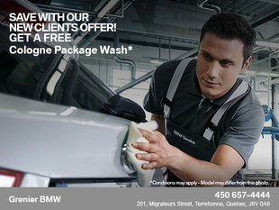 Get a Free Cologne Package Wash!