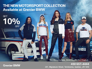 Get 10% Off the New Motorsport Collection