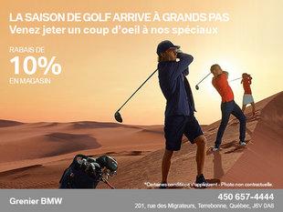 La saison du golf arrive!