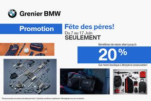 Promotion fête des pères Grenier BMW