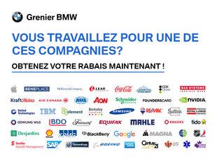 Rabais compagnies Grenier BMW