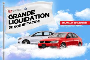 GRANDE LIQUIDATION Volkswagen Jetta 2014