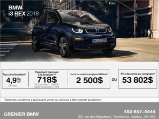 BMW i3 REX 2018
