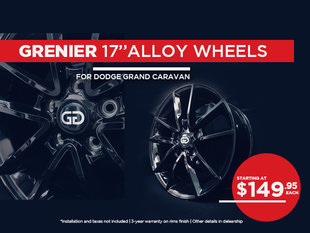 GRENIER alloy wheels - Grand Caravan