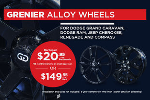 GRENIER alloy wheels