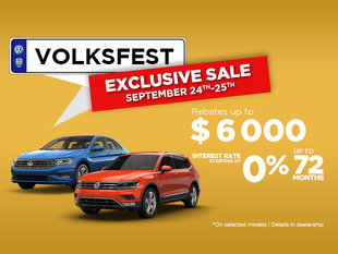 EXCLUSIVE Volksfest Sale 24-25th September