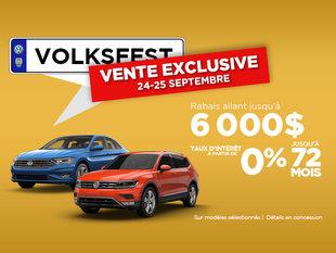 Vente EXCLUSIVE Volksfest 24-25 septembre