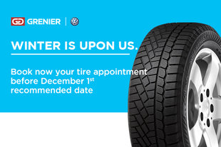Winter tire appointment