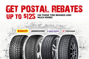 POSTAL REBATES ON TIRES!