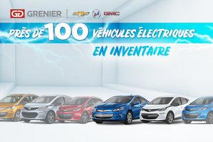 100 Véhicules électriques en inventaire