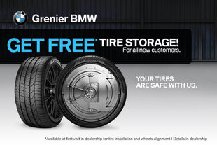 Free tire storage for new customers!