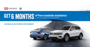 FREE 6 month of roadside assistance!