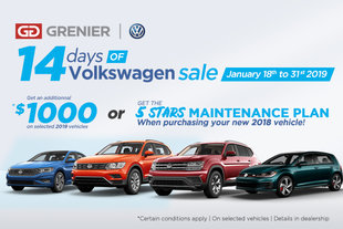 The 14 Days of Volkswagen Sale!