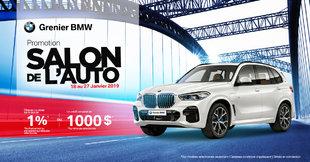 Promotion SALON DE L'AUTO!