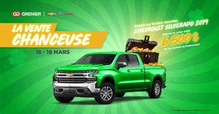 La vente CHANCEU$E! 18-19 Mars RABAIS SILVERADO
