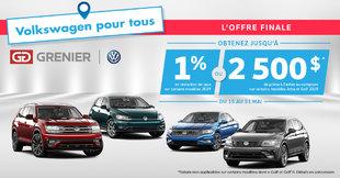 Grenier Volkswagen : L'OFFRE FINALE!