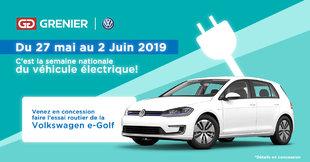 Grenier Volkswagen : Semaine électrique!