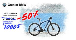 Promotion Vélo BMW M !