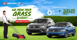 ''WE MOW YOUR GRASS'' EVENT