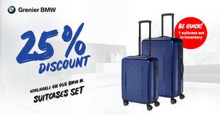 BMW M Suitcases promotion !