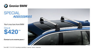 BMW Roof Cross Bars!