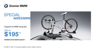 Supports for BMW racing bike!